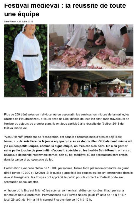 20130724-ouest-france-festival-medieval-_-la-reussite-de-toute-une-equipe